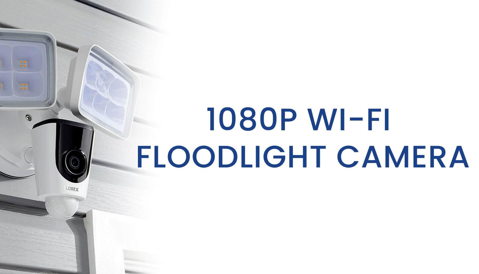 Floodlight Video Camera