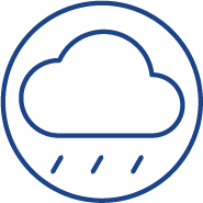 IP67 weather rating security camera