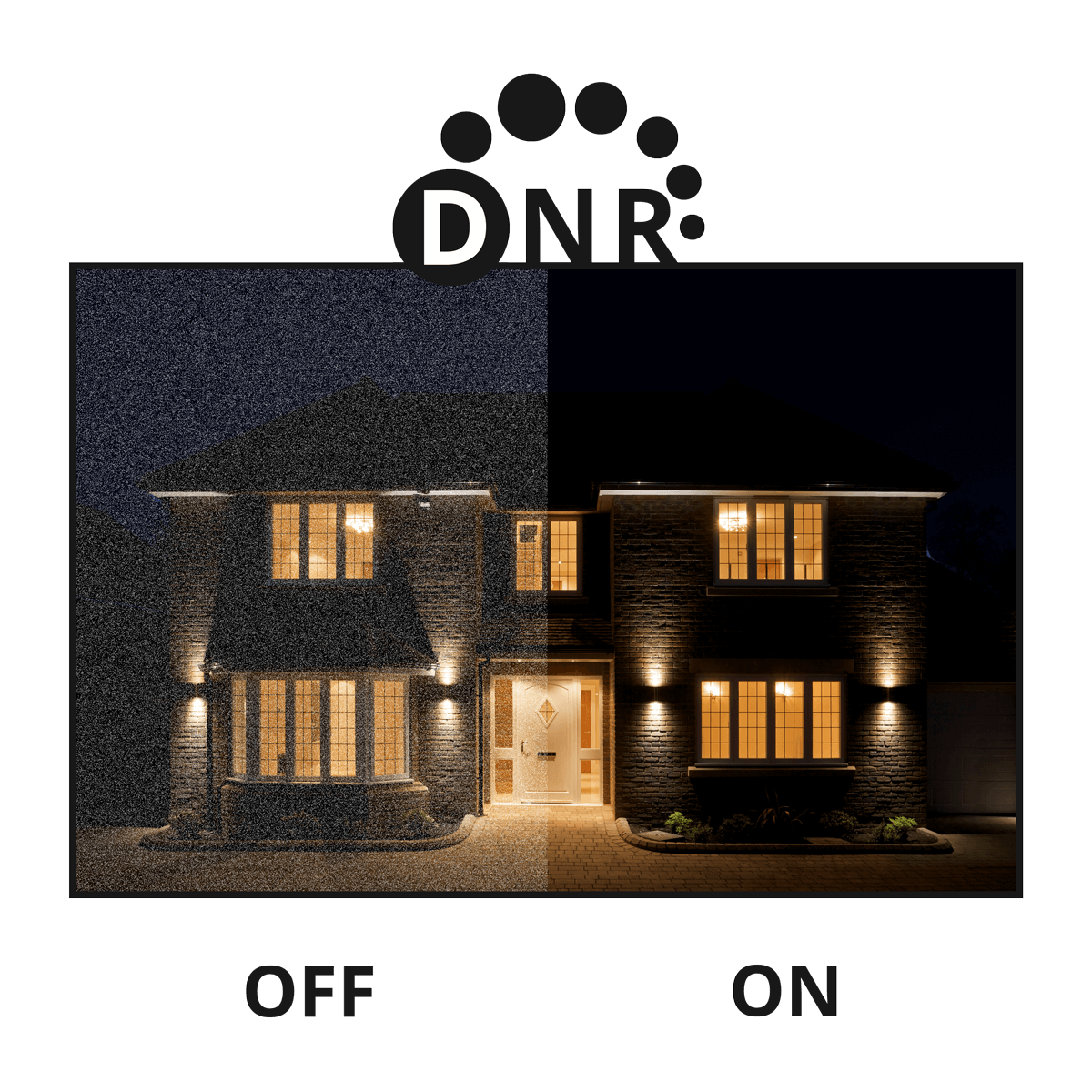 DNR nocturnal 4K security camera
