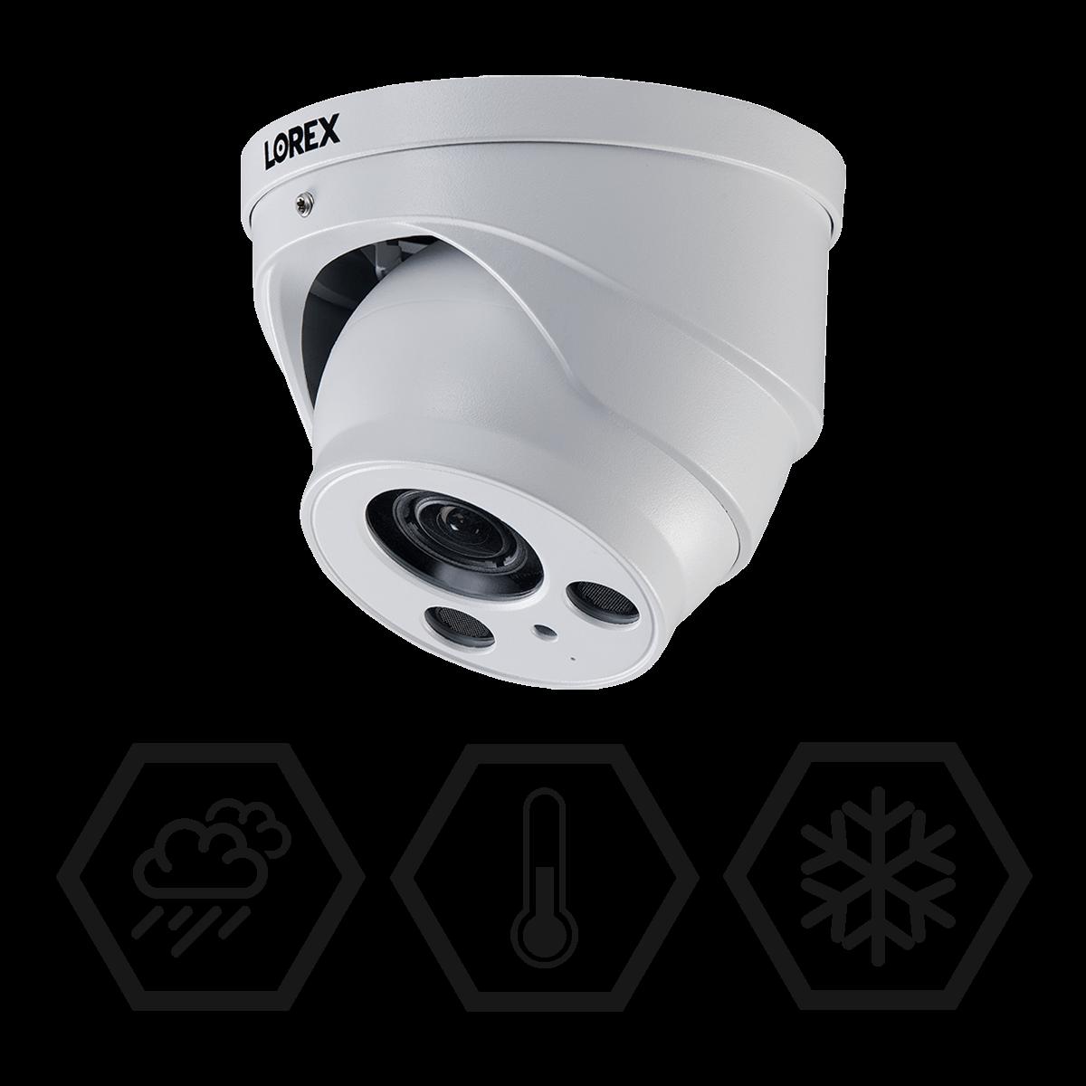 IP67 weatherproof security camera