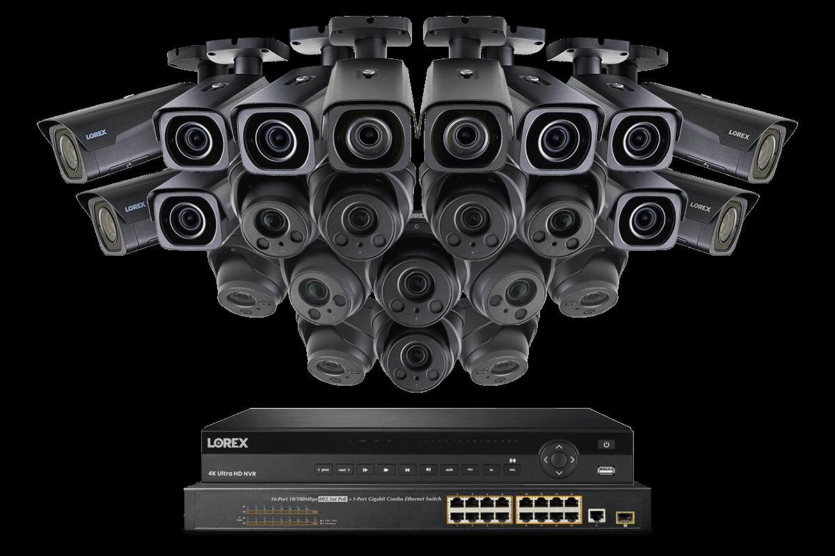 4KHDIP3224BNV-1 4K nocturnal security camera system