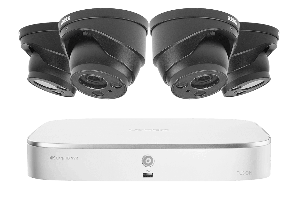 4KHDIP822NW 4K nocturnal security camera system