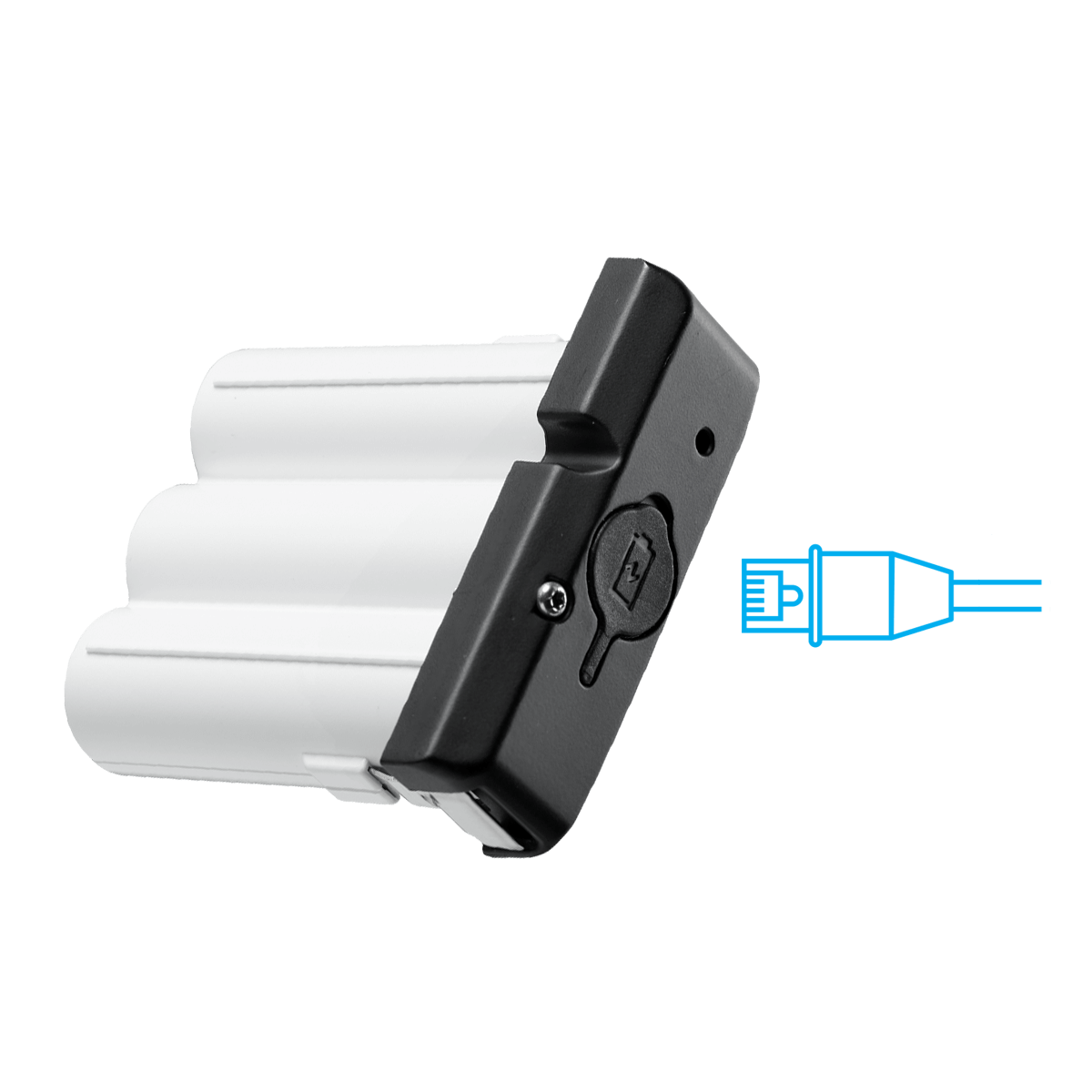 battery power pack with quick release