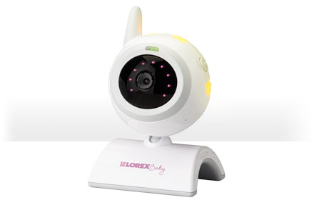 Sale black friday baby monitor with built in night light from Lorex