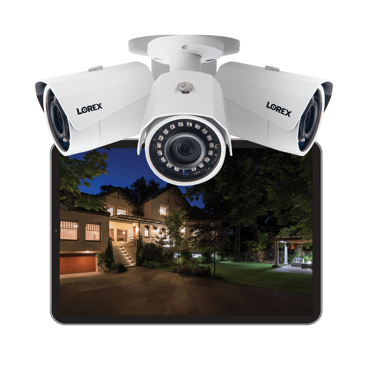 analog security camera with night vision