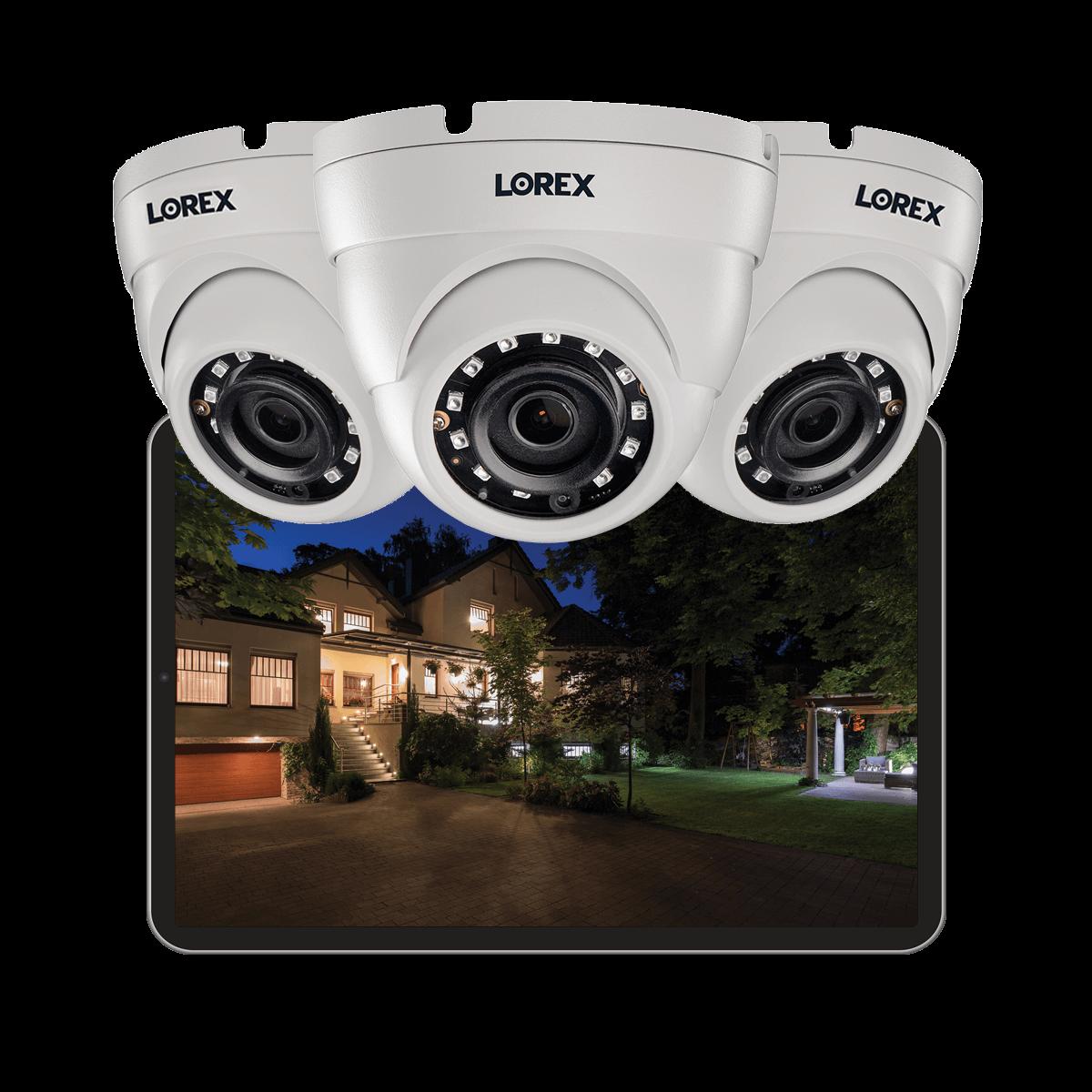 2K color night vision security camera