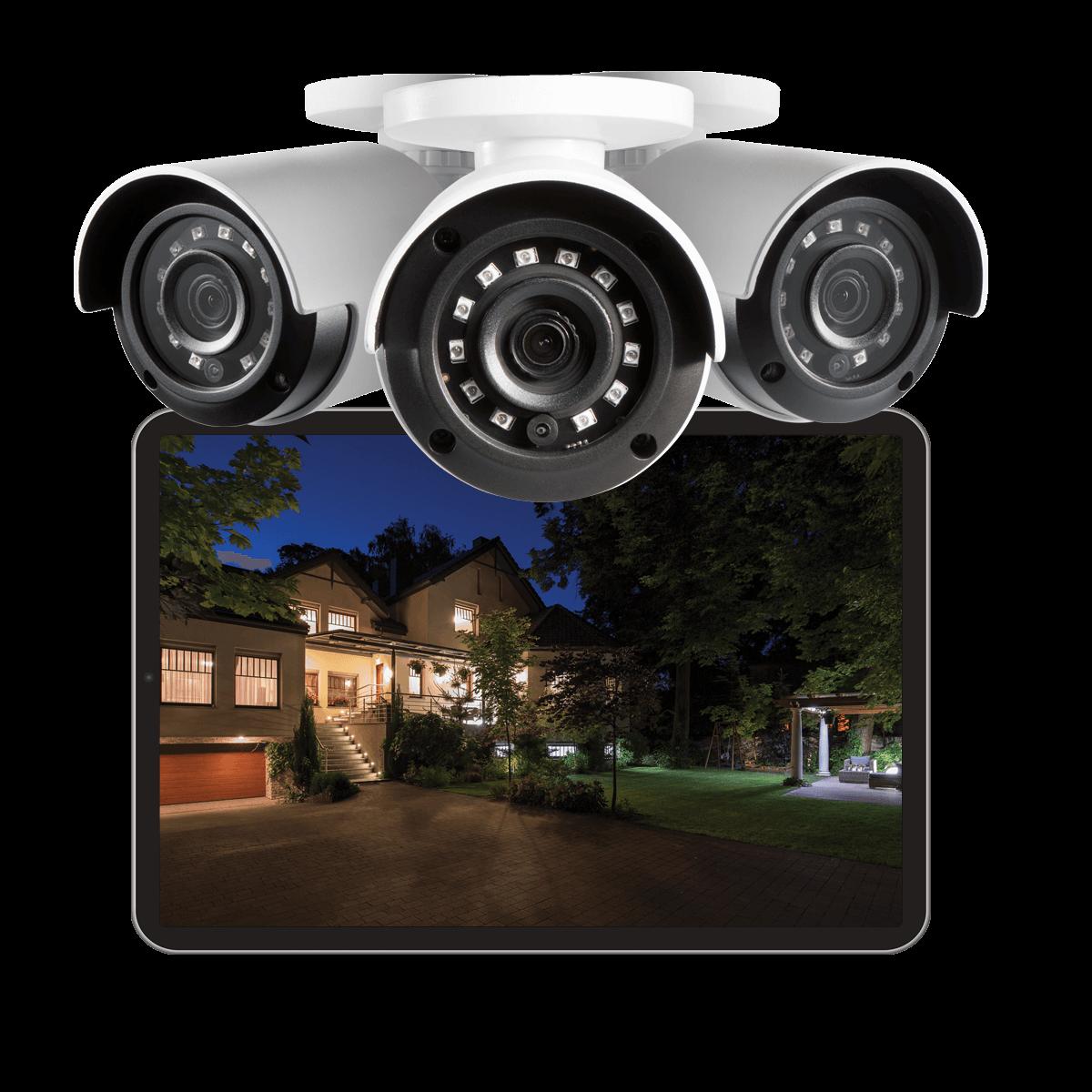 color night vision (CNV) bullet IP camera