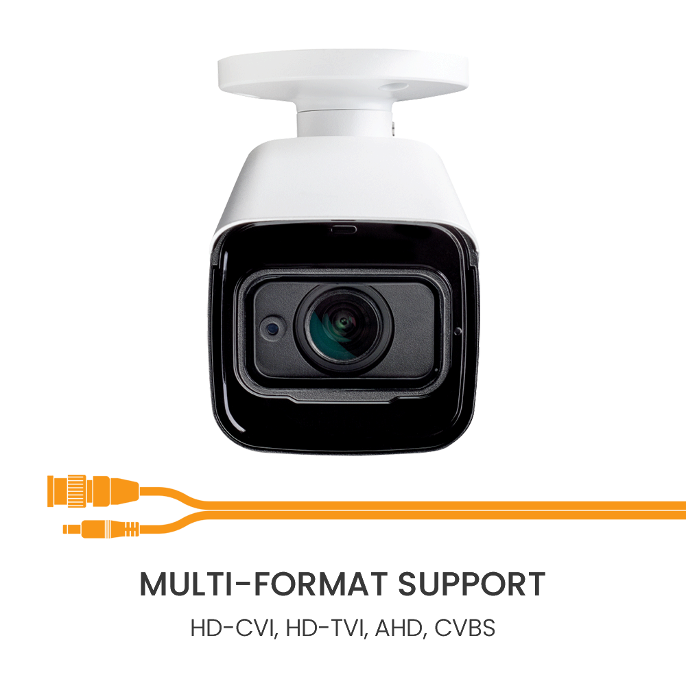 Multi-format analog hd support