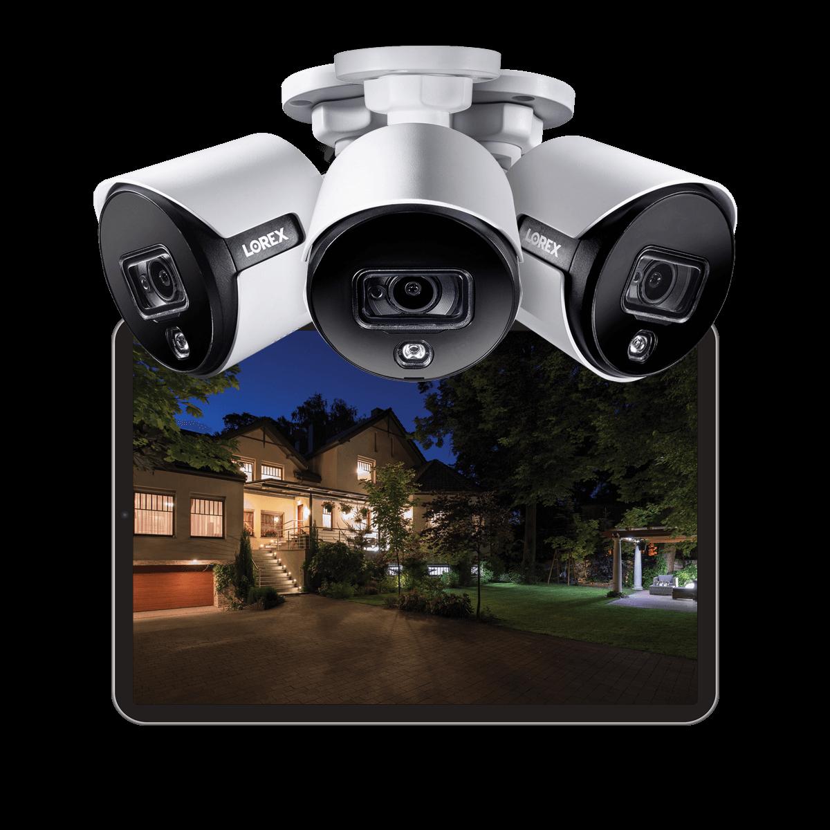 best color night vision bullet IP camera