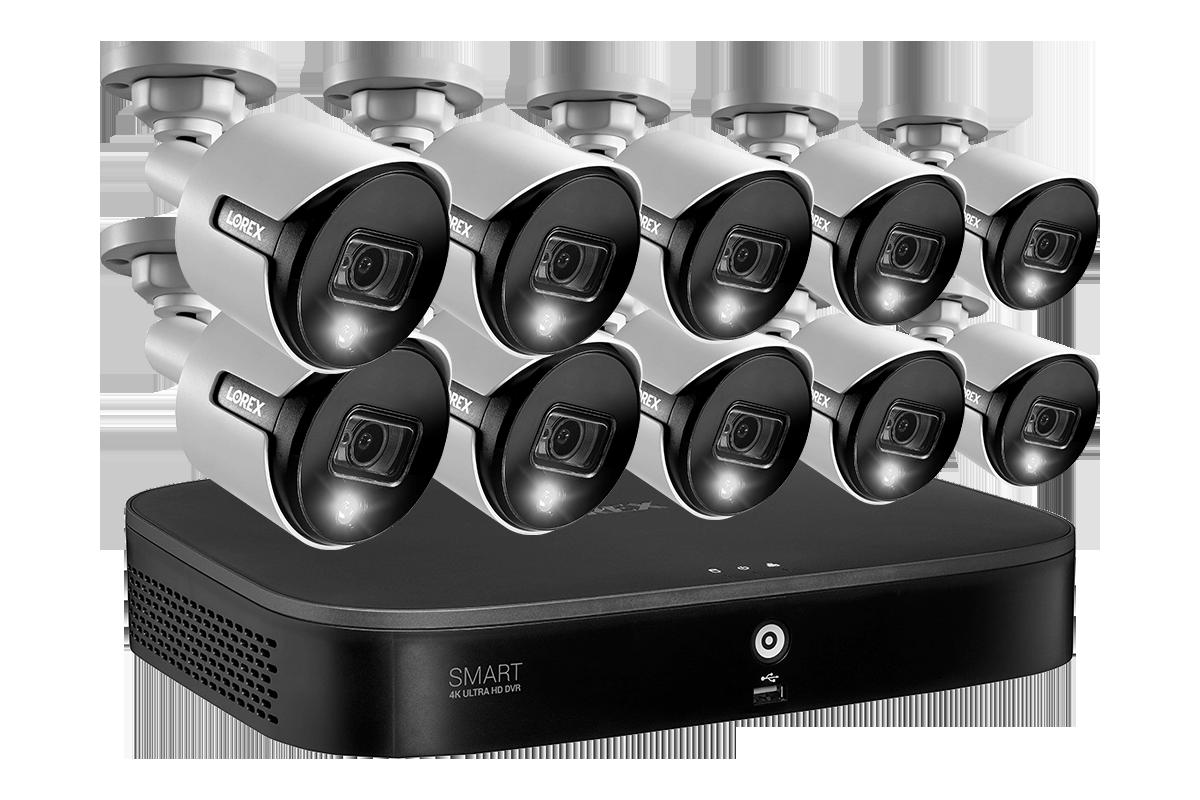 D86162T-A8DA-E 4K 8MP security camera system analog HD