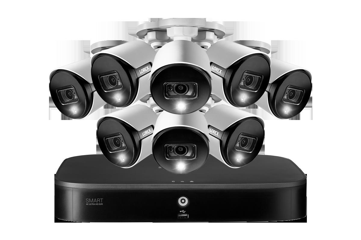 D86182T-88DA-E 4K 8MP security camera system analog HD