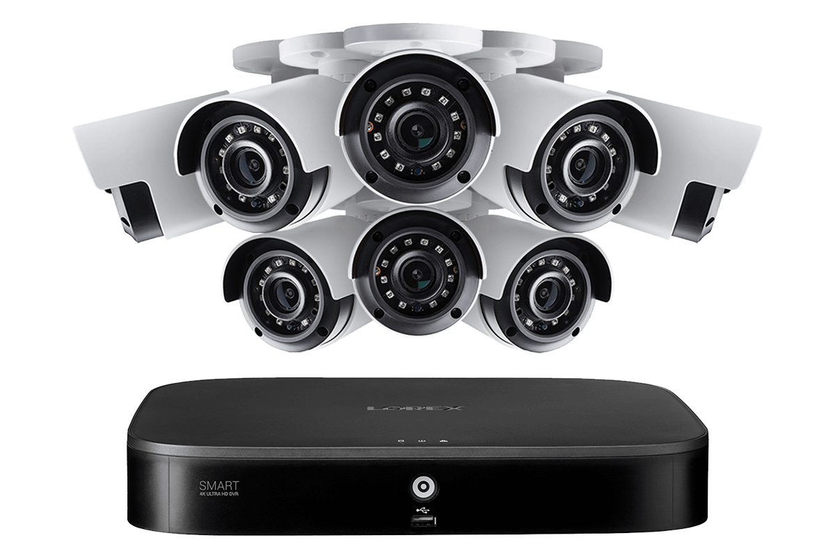 D861A81T-88CA 4K Analog HD Security System
