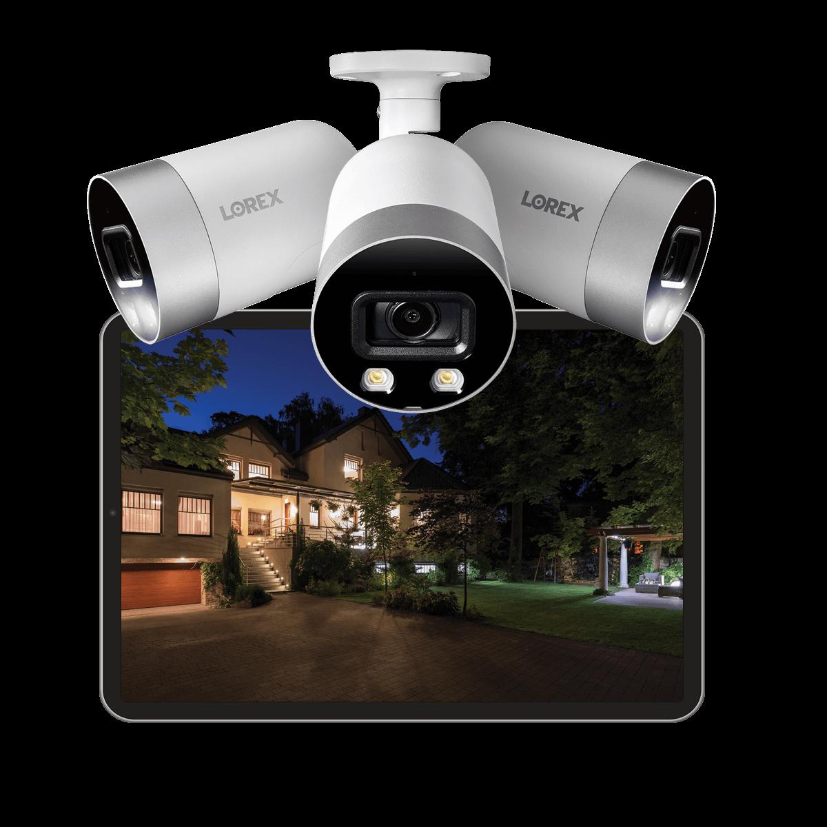 color night vision (CNV) bullet 4K IP security camera