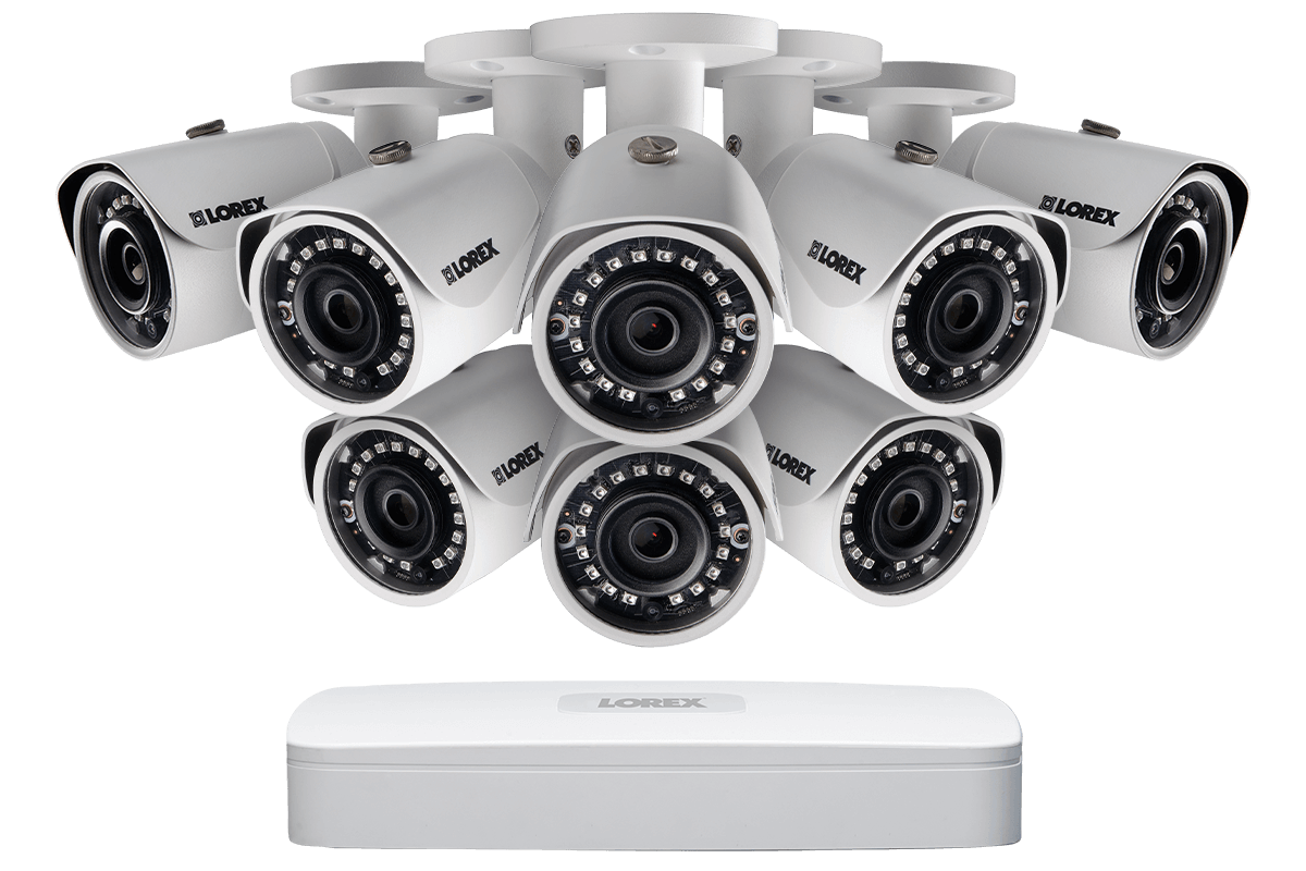 1080p HD IP security camera system from Lorex