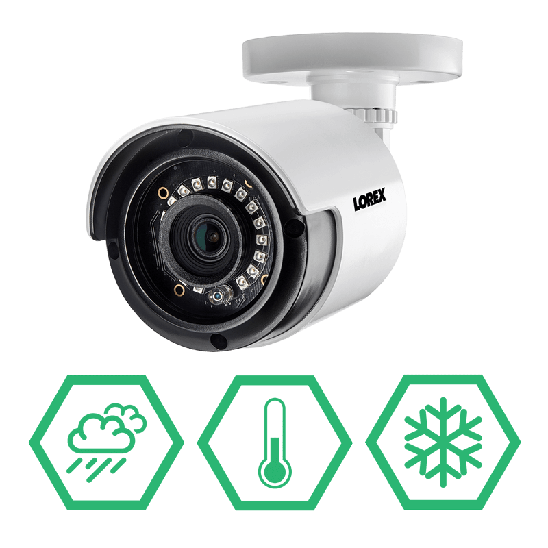 2K weatherproof security camera for year-round protection