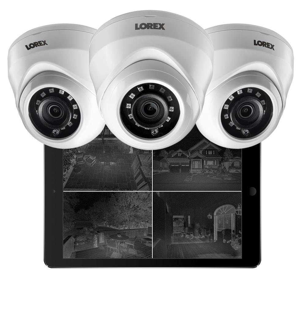 LAE221 night vison dome security cameras