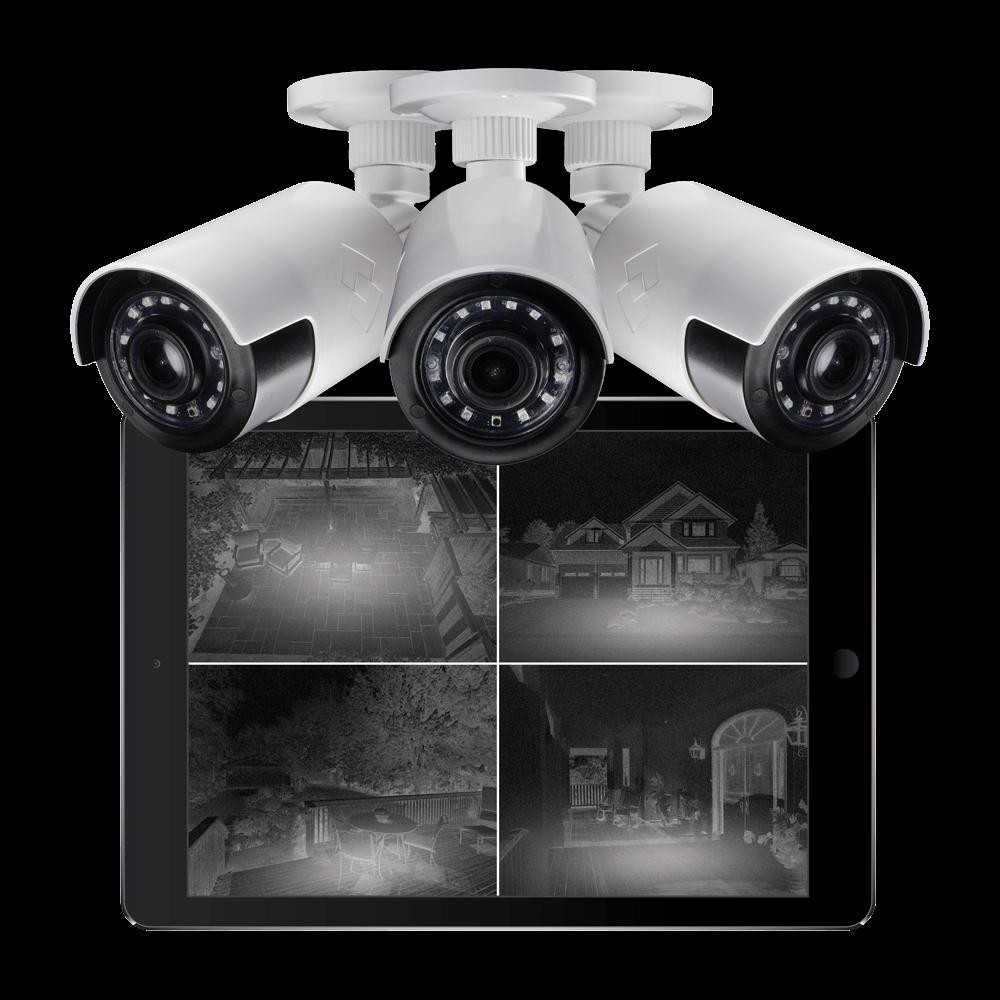 HD night vision bullet MPX cameras