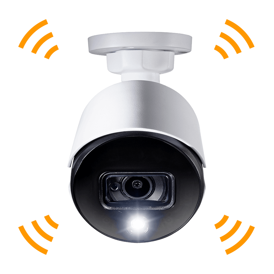 4K active deterrence security camera