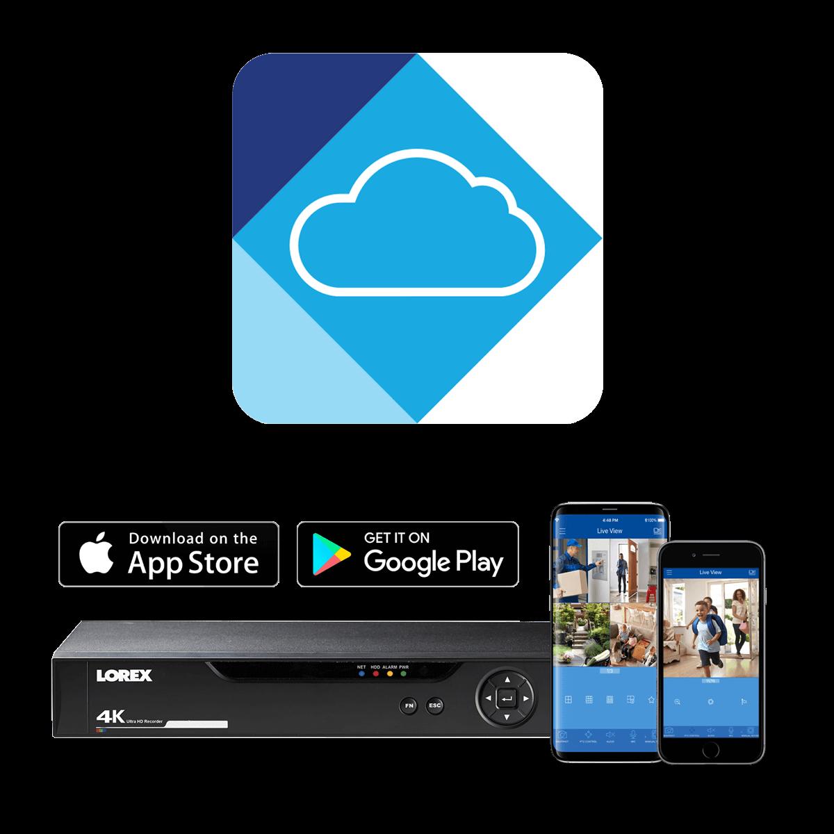 FLIR Cloud app for 2K DVR