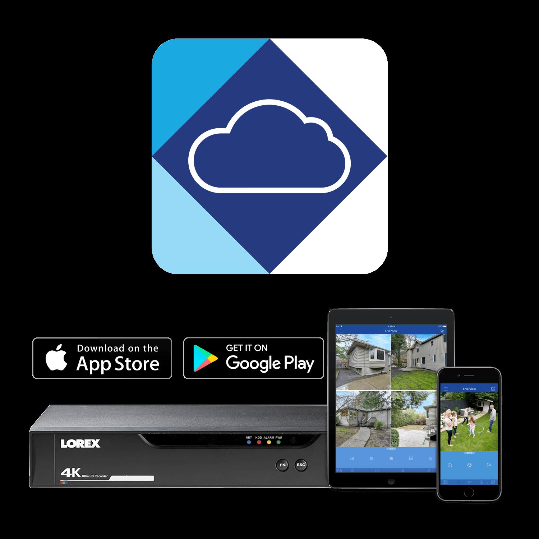 Lorex Cloud app for 4K DVR