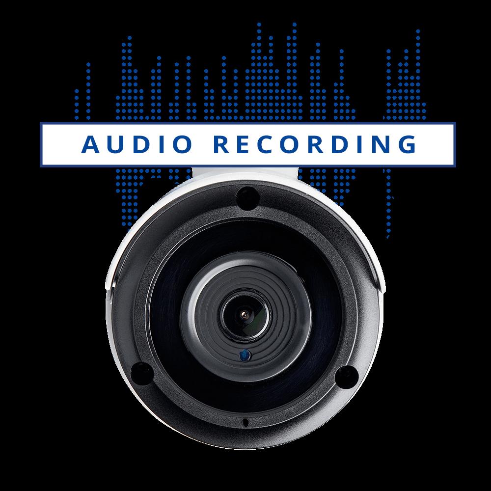 audio recording security cameras