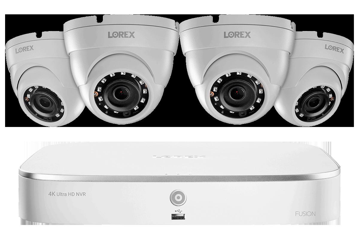 LN10802-84W, 2K IP Security Camera System