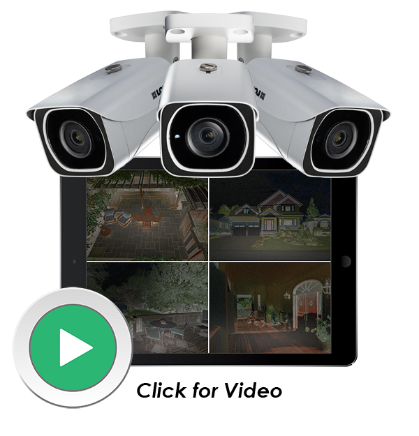 1080p night vision security camera with wide FOV