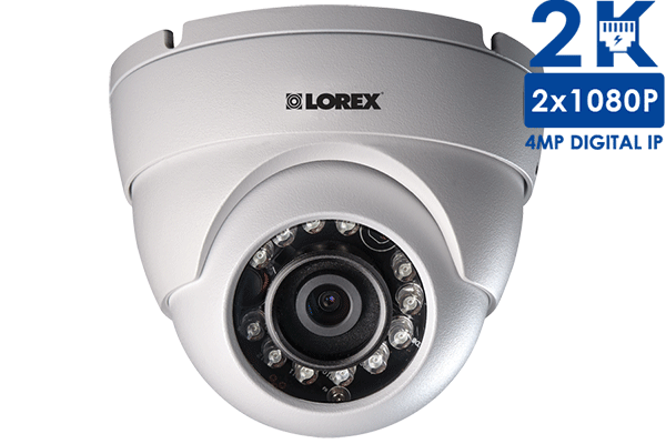 LNE4162 4MP High Definition Dome Security Camera with Color Night Vision