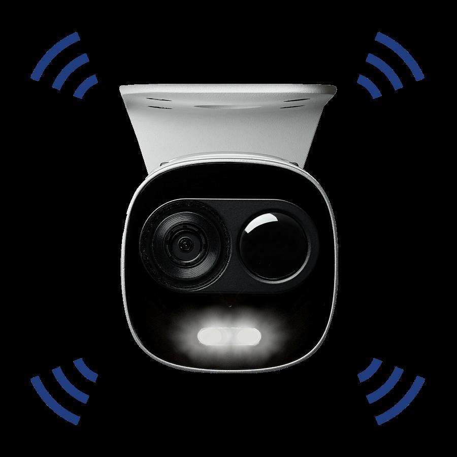 4K Active Deterrence IP camera