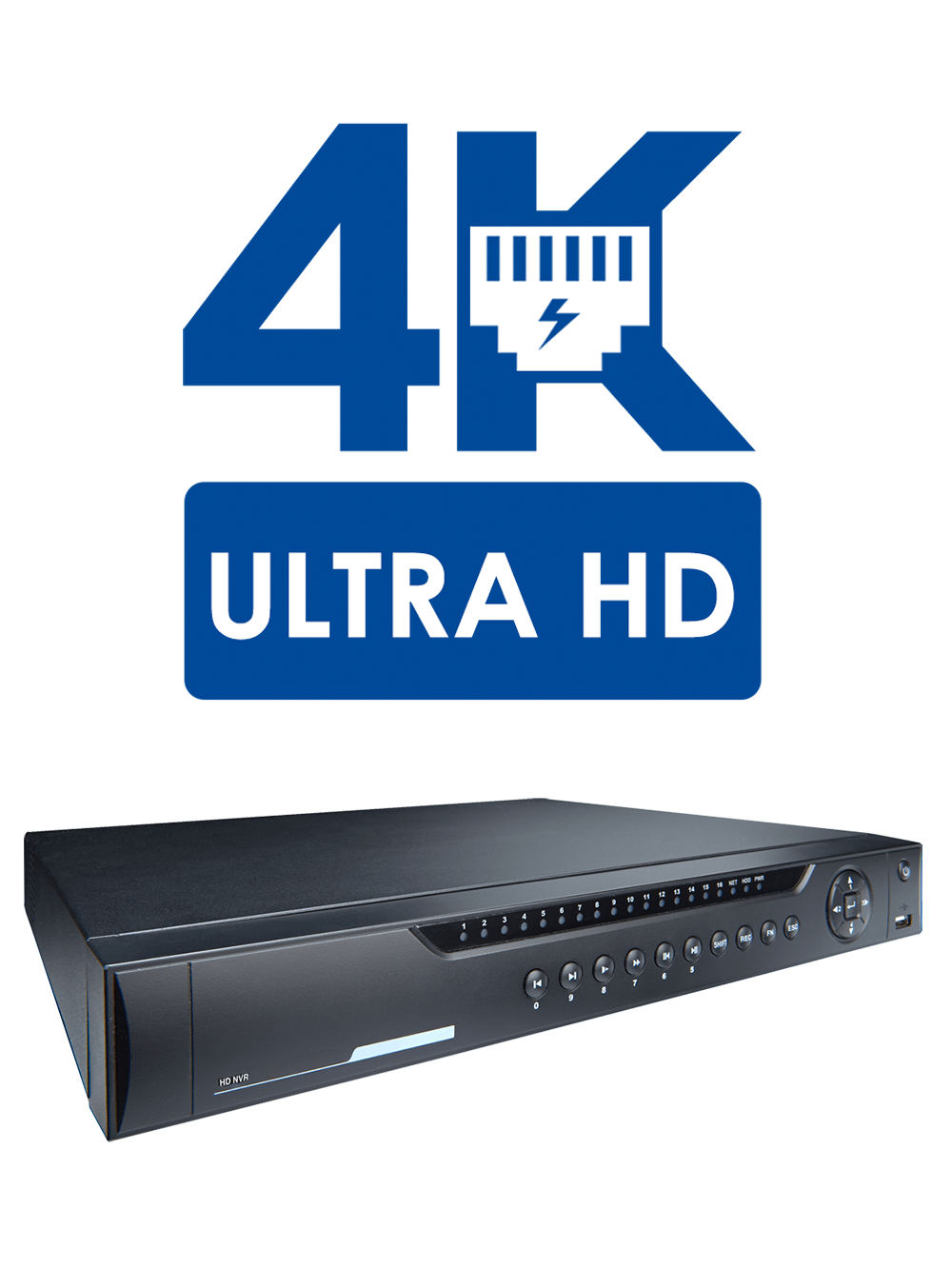 Powerful HD recording and 4K capability