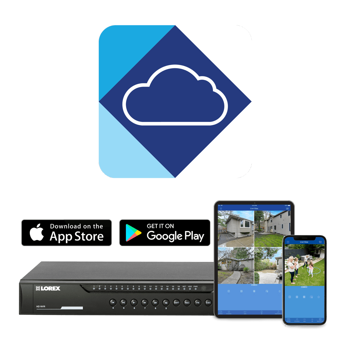 Lorex Cloud Remote Viewing