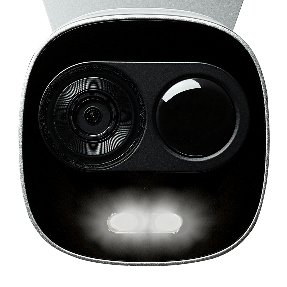 white light deterrence security camera