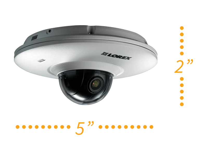 minature HD security camera with listen-in audio
