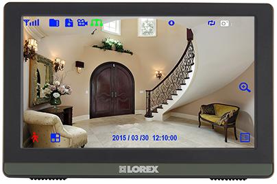"7"" LCD monitor / recorder"