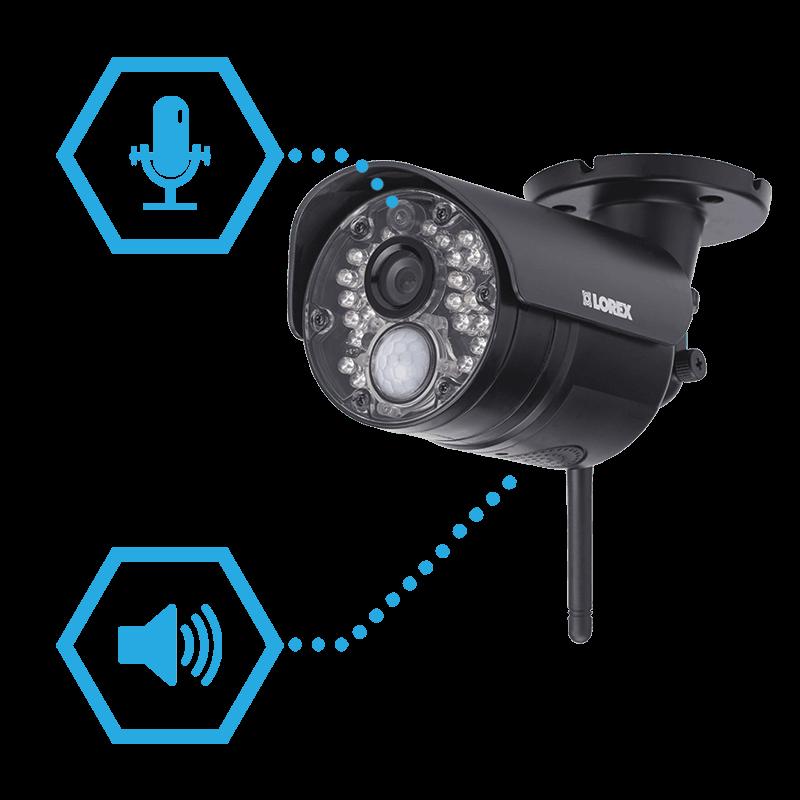 Audio monitoring and 2-way intercom