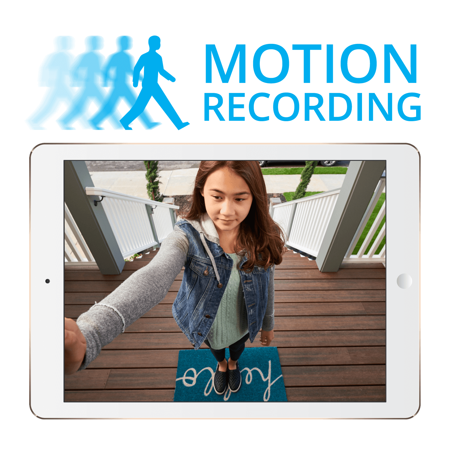 wire-free motion recording