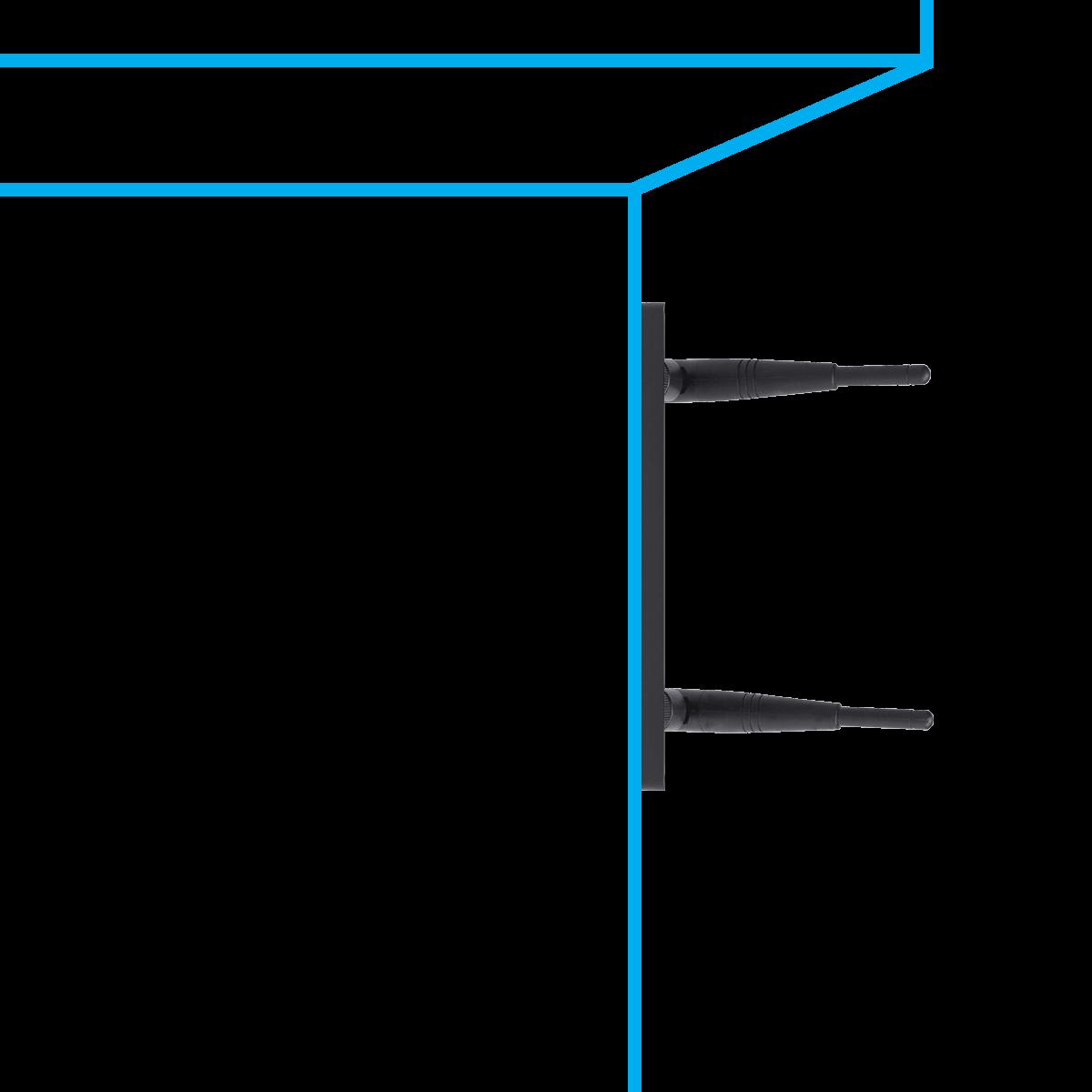 weatherproof wire-free receiver