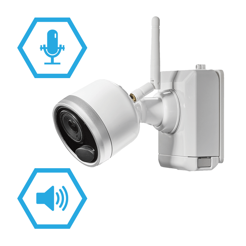 two way talk wire-free security camera