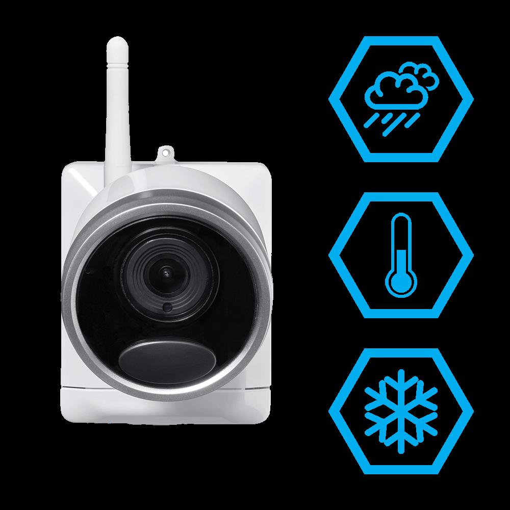 weatherproof wire-free security camera