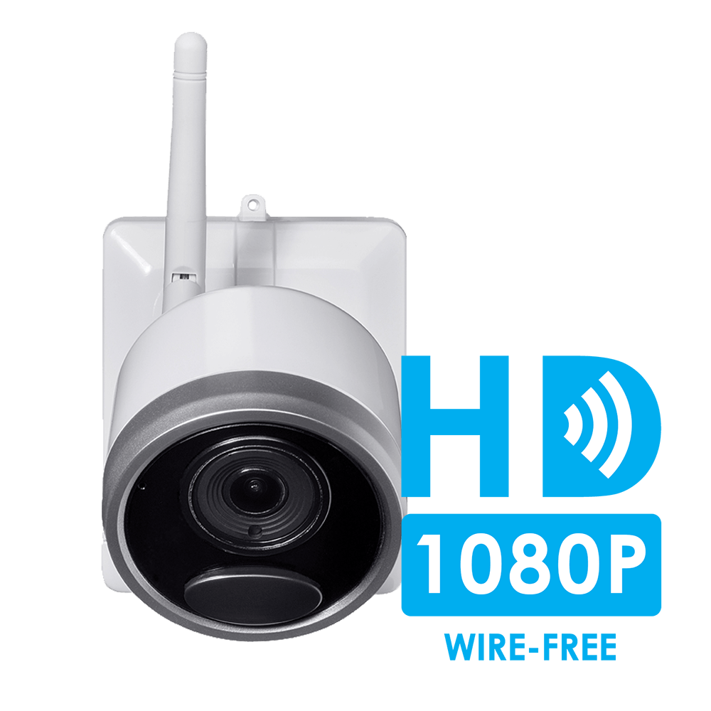 1080p wire-free security camera