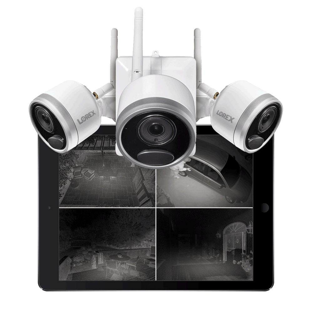 wire-free security camera night vision