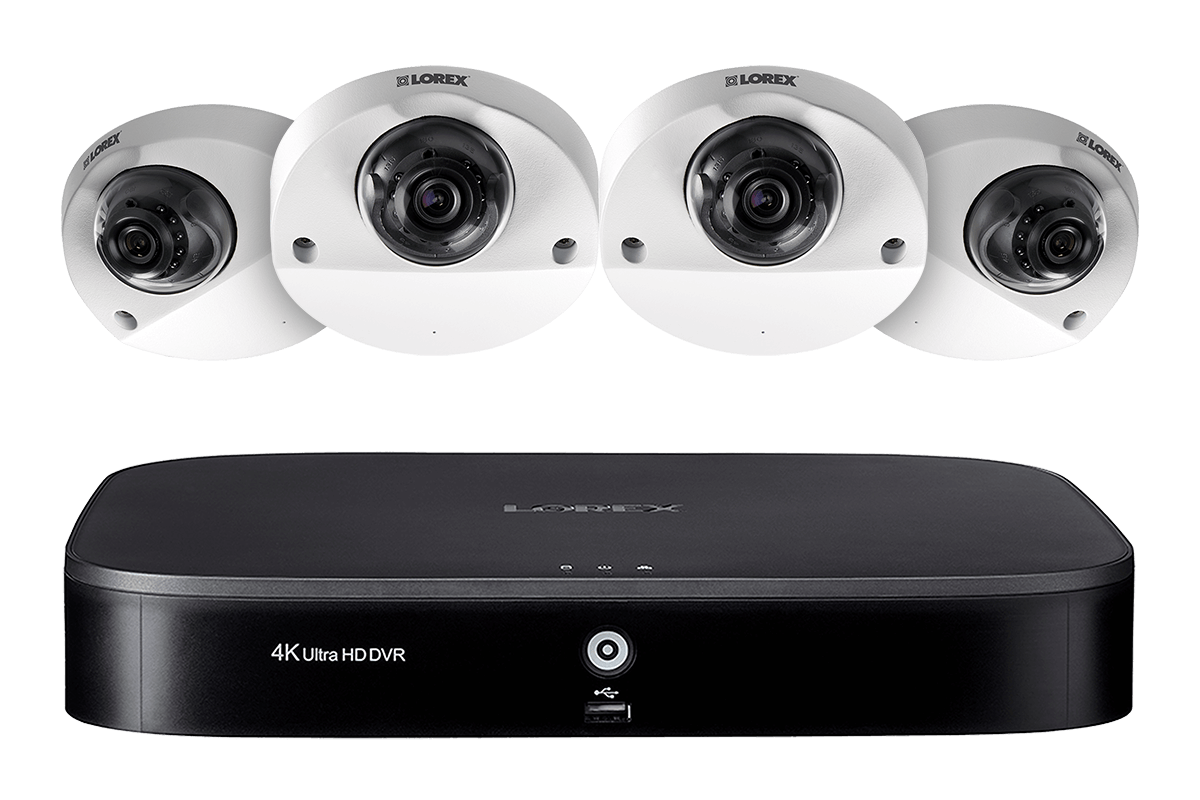 MPX84AW, 1080p 8 Channel HD Security Camera System