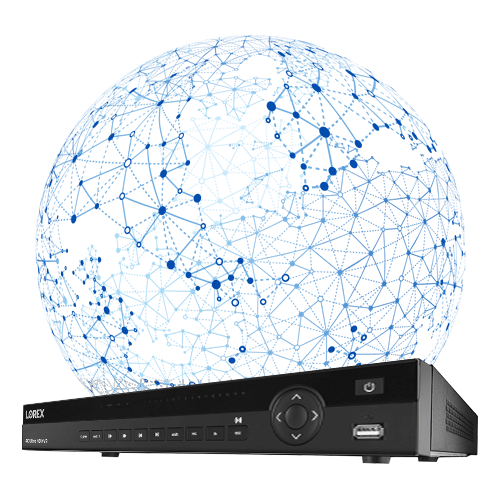 NVR with IPv6