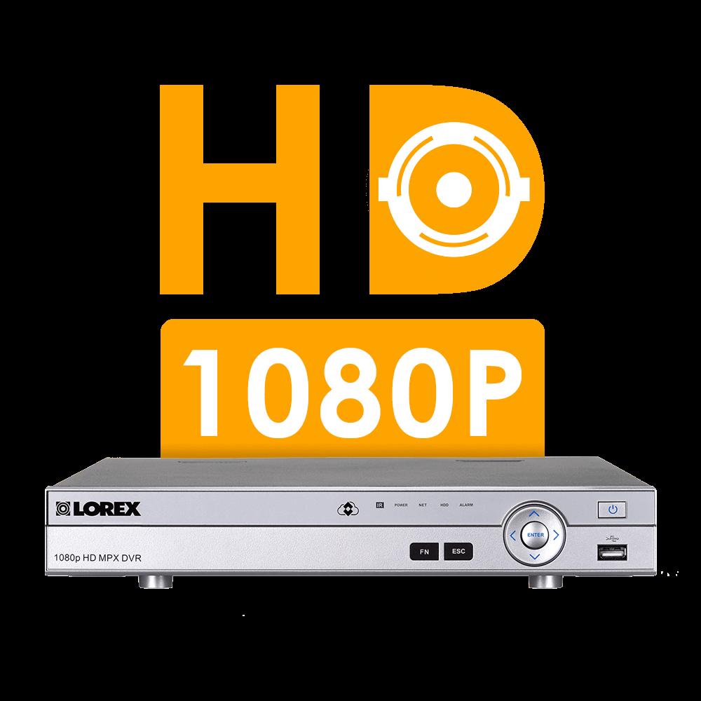 1080P HD security DVR