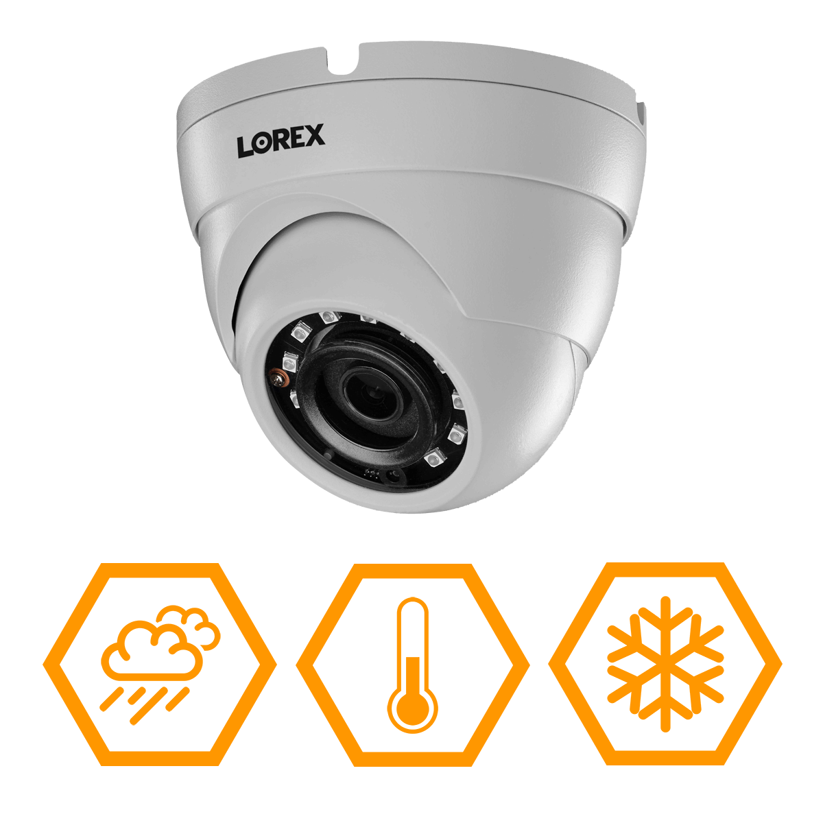 IP66 weatherproof HD analog security camera that can stand up to extreme temperatures