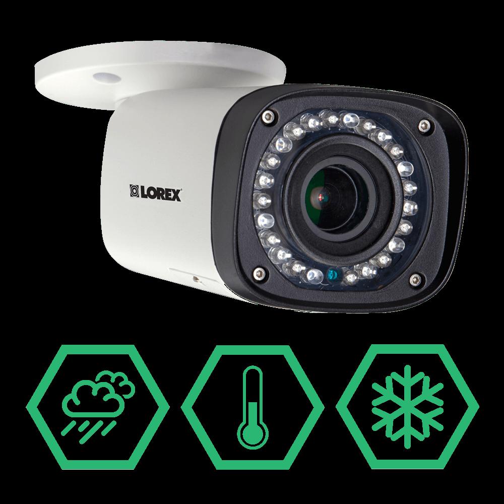 extreme termperature weatherproof IP cameras