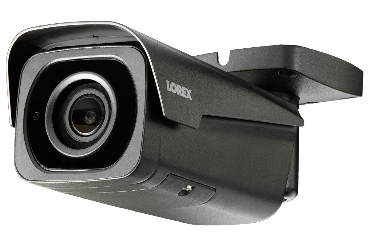4K Nocturnal bullet and dome security cameras