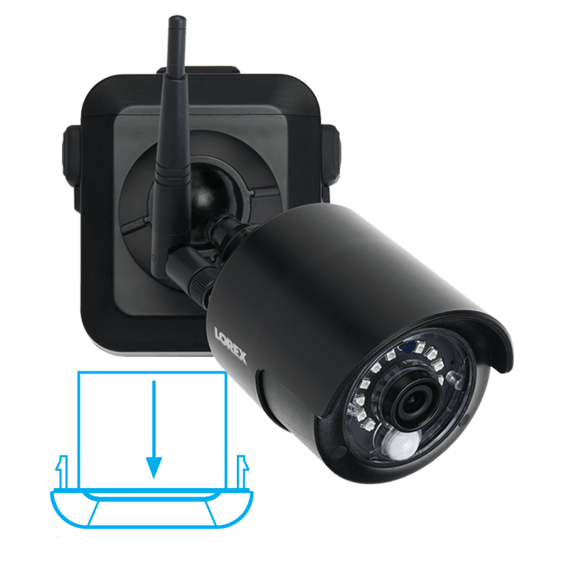 wire-free secuirty camera long lasting battery