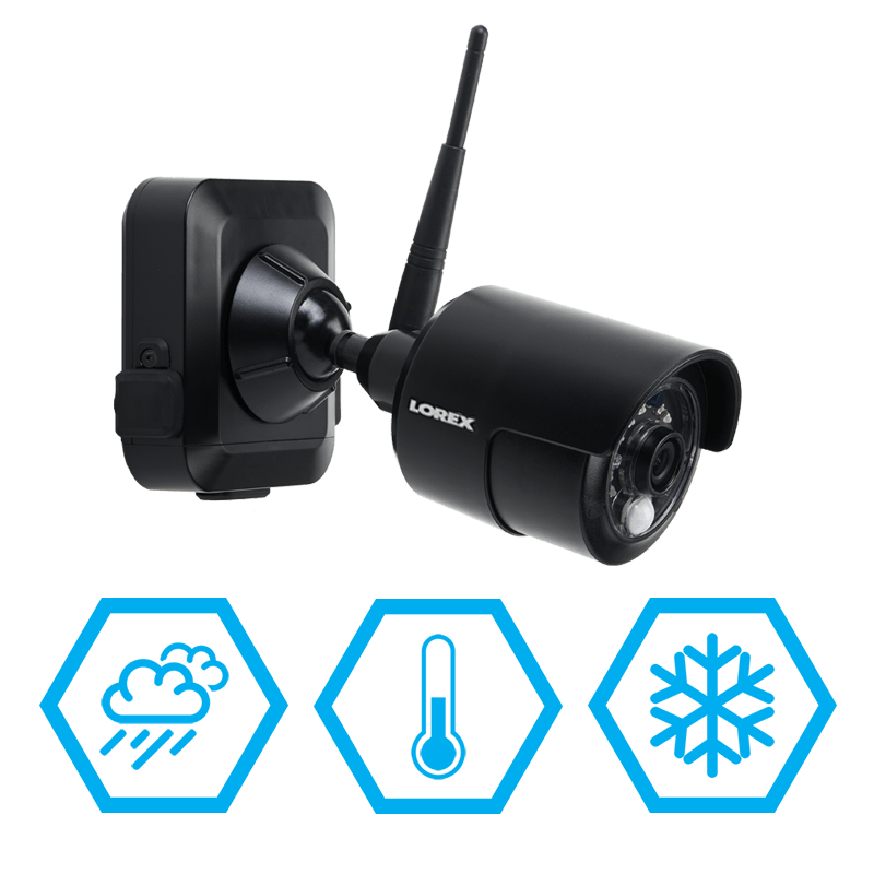 wire-free weather resistant security camera