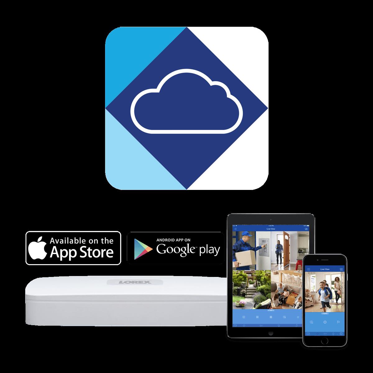 Lorex Cloud app